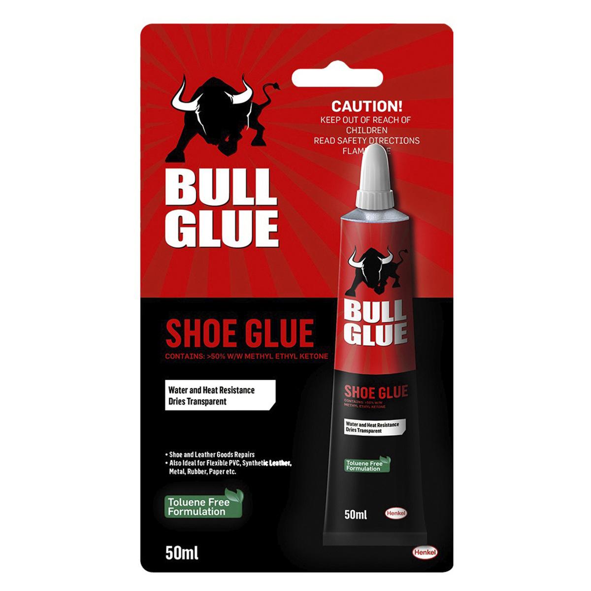 Bull Glue Shoe Glue 50ml Kmart