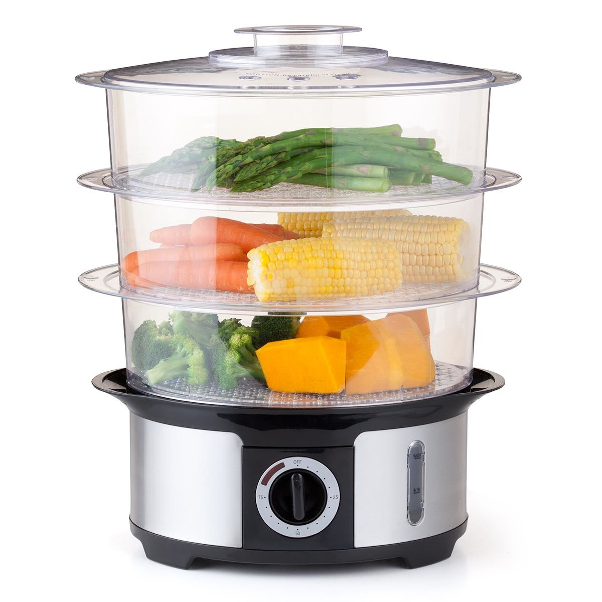 3 tier food steamer kmart for Steamer cuisine