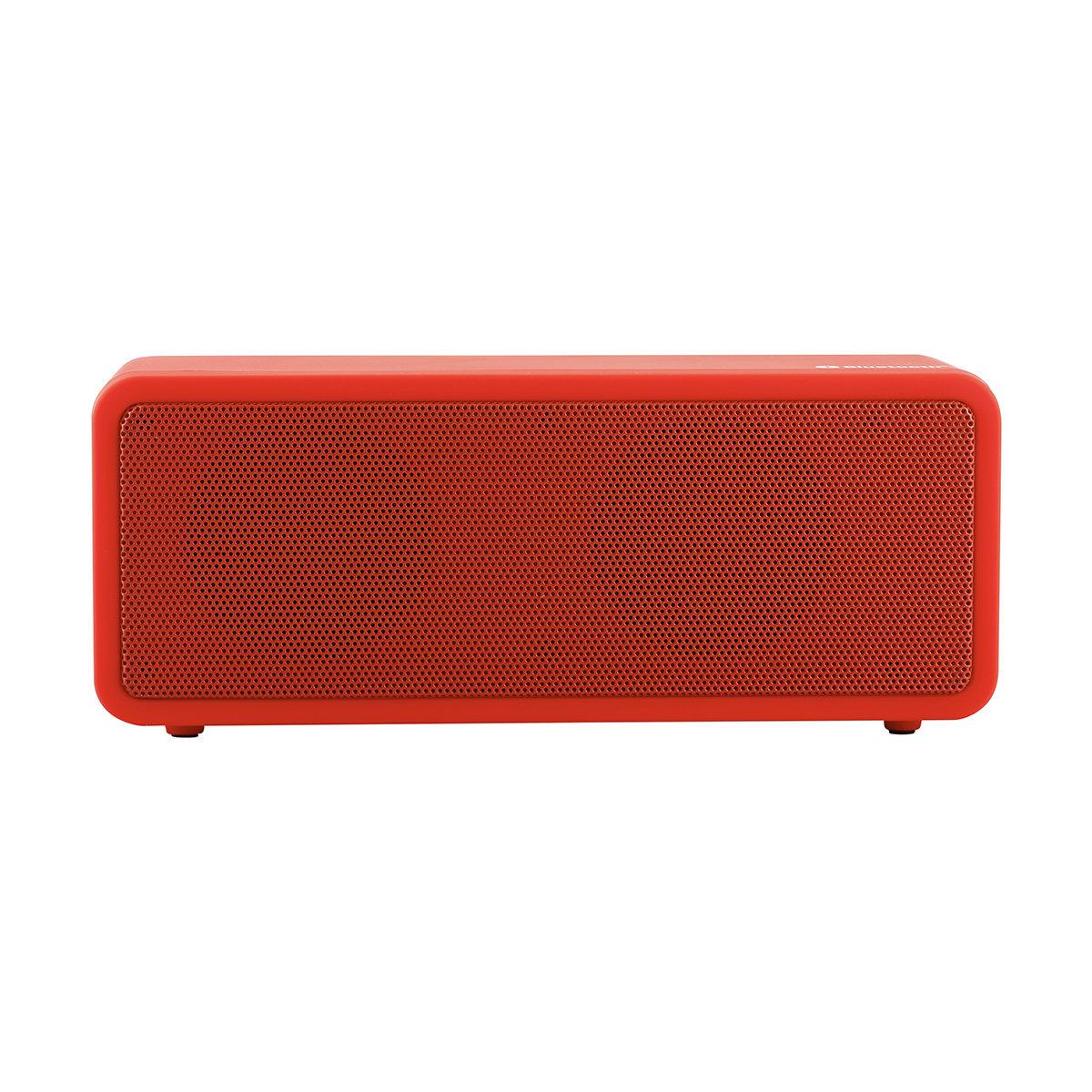 Bluetooth Portable Speaker - Red   Kmart