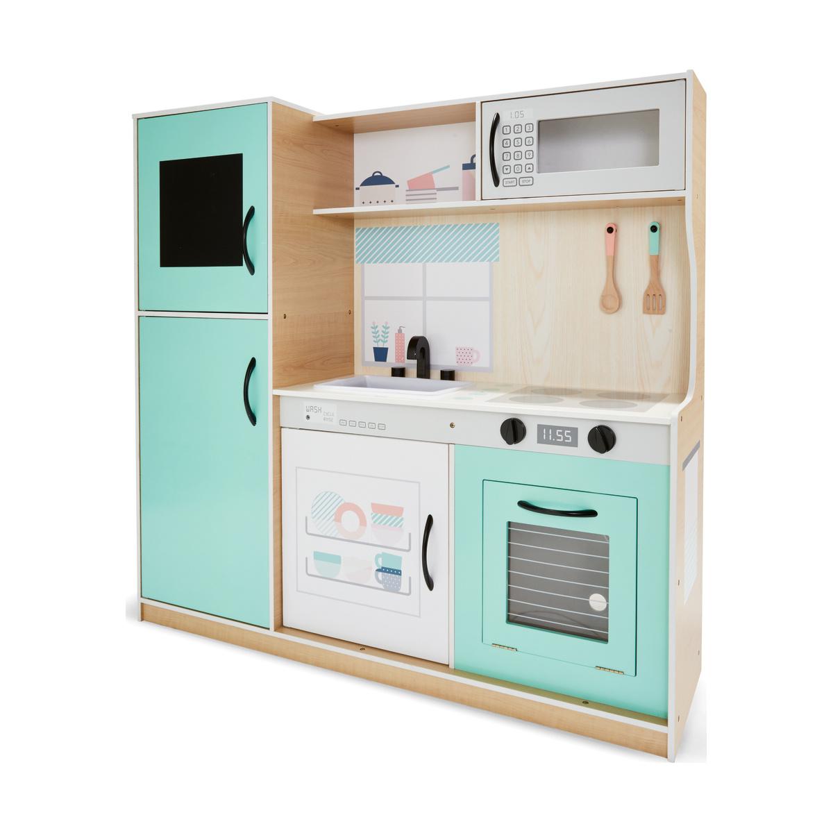 Large Wooden Kitchen Playset | Kmart