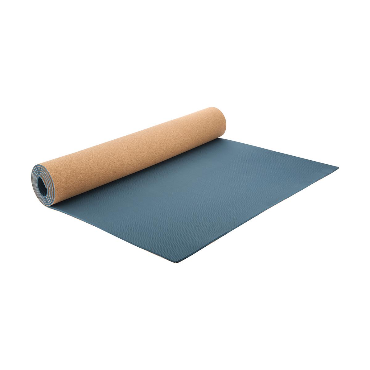 Cork Look Yoga Mat