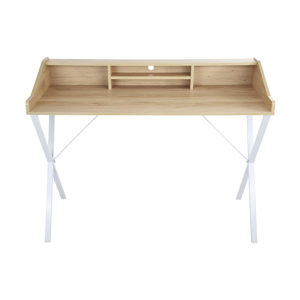 Roll Over Particle Board Desk ~ Scandi tiered desk kmart