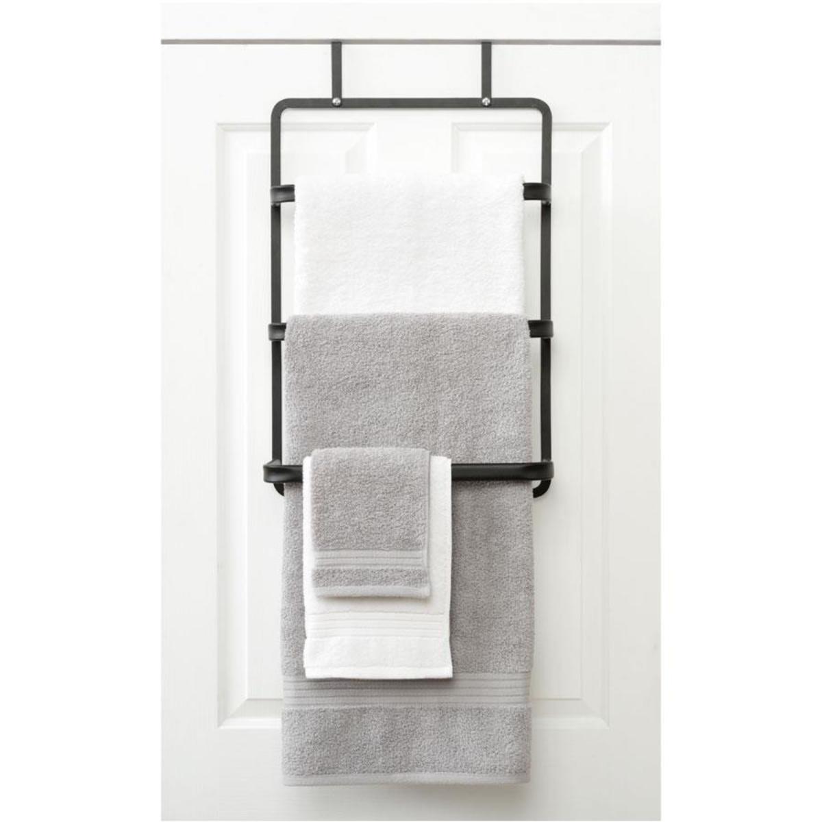 Uncategorized Towel Hangers For Doors over the door towel rack kmart user login