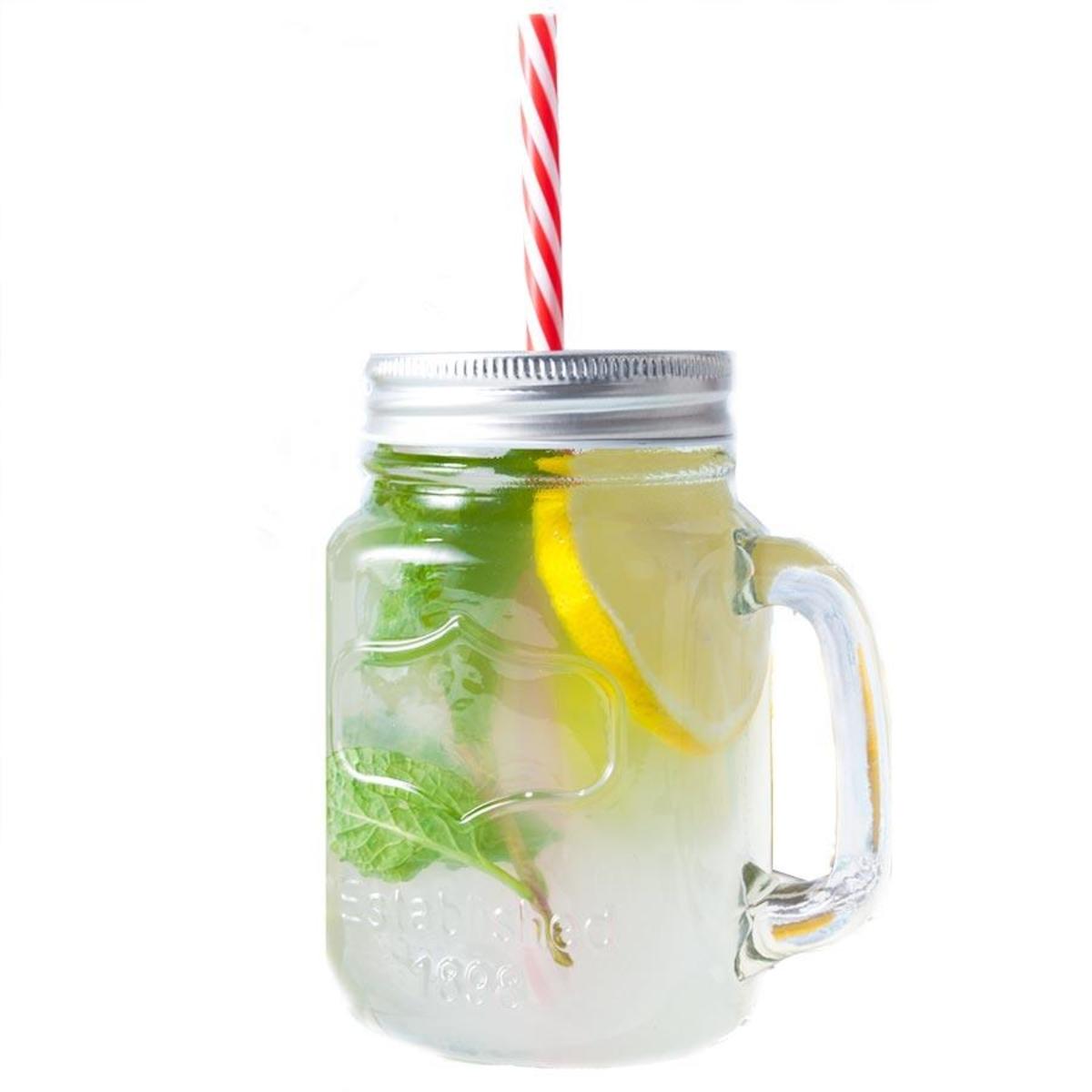 Glass Primark Drink Jar