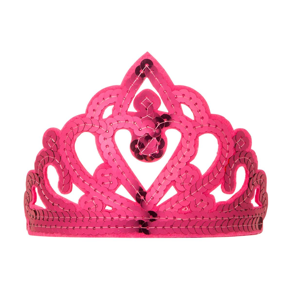 Hair accessories launceston - Sequin Tiara Headband Pink