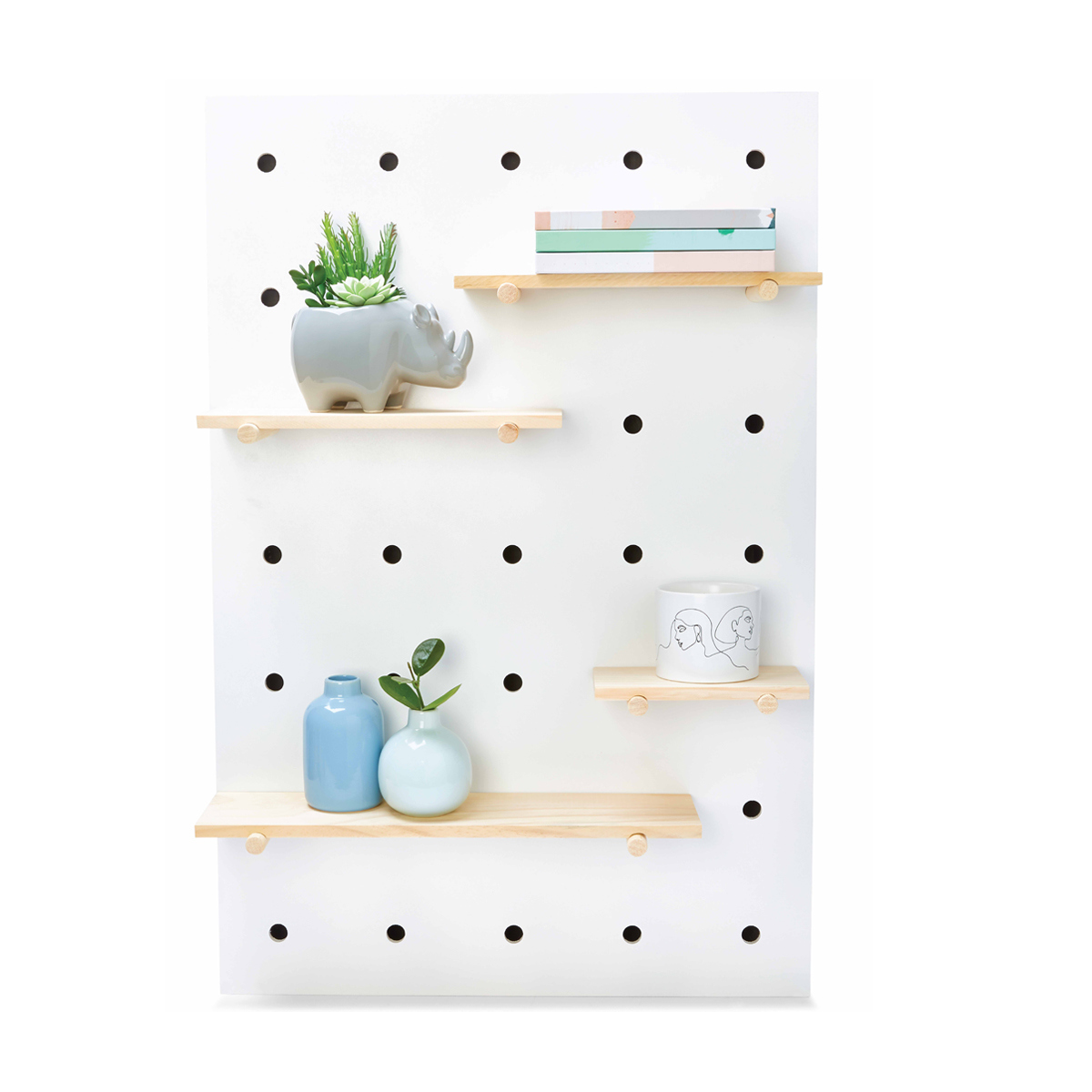 Modern Homes Peg: Peg Board