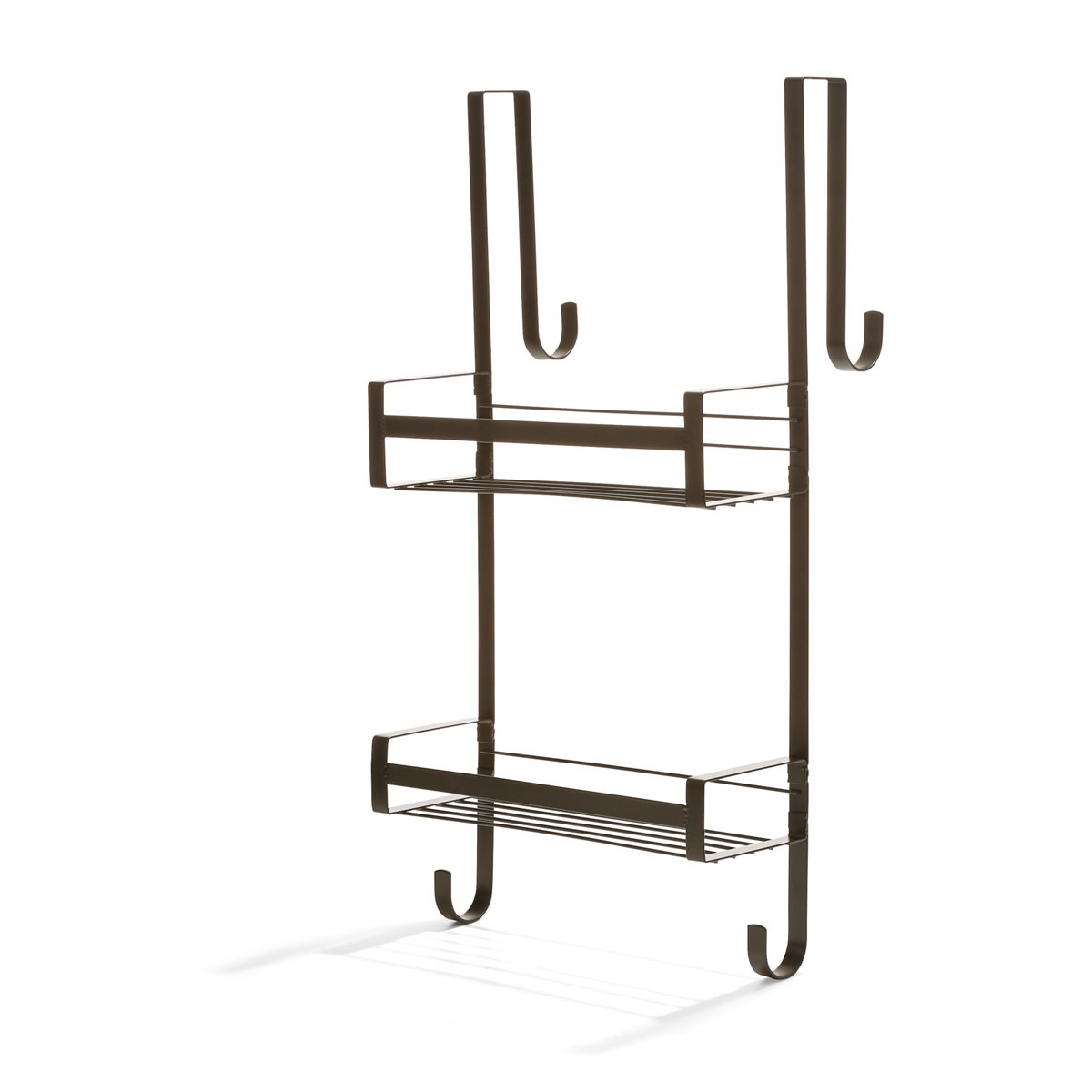 Over Door Shower Caddy Matte Black Kmart