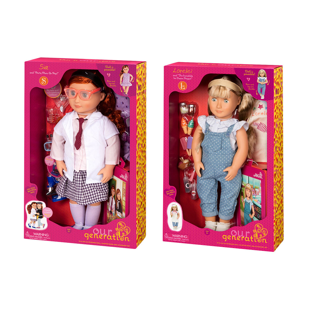 Our Generation Sia Or Lorelei Doll Assorted Kmart