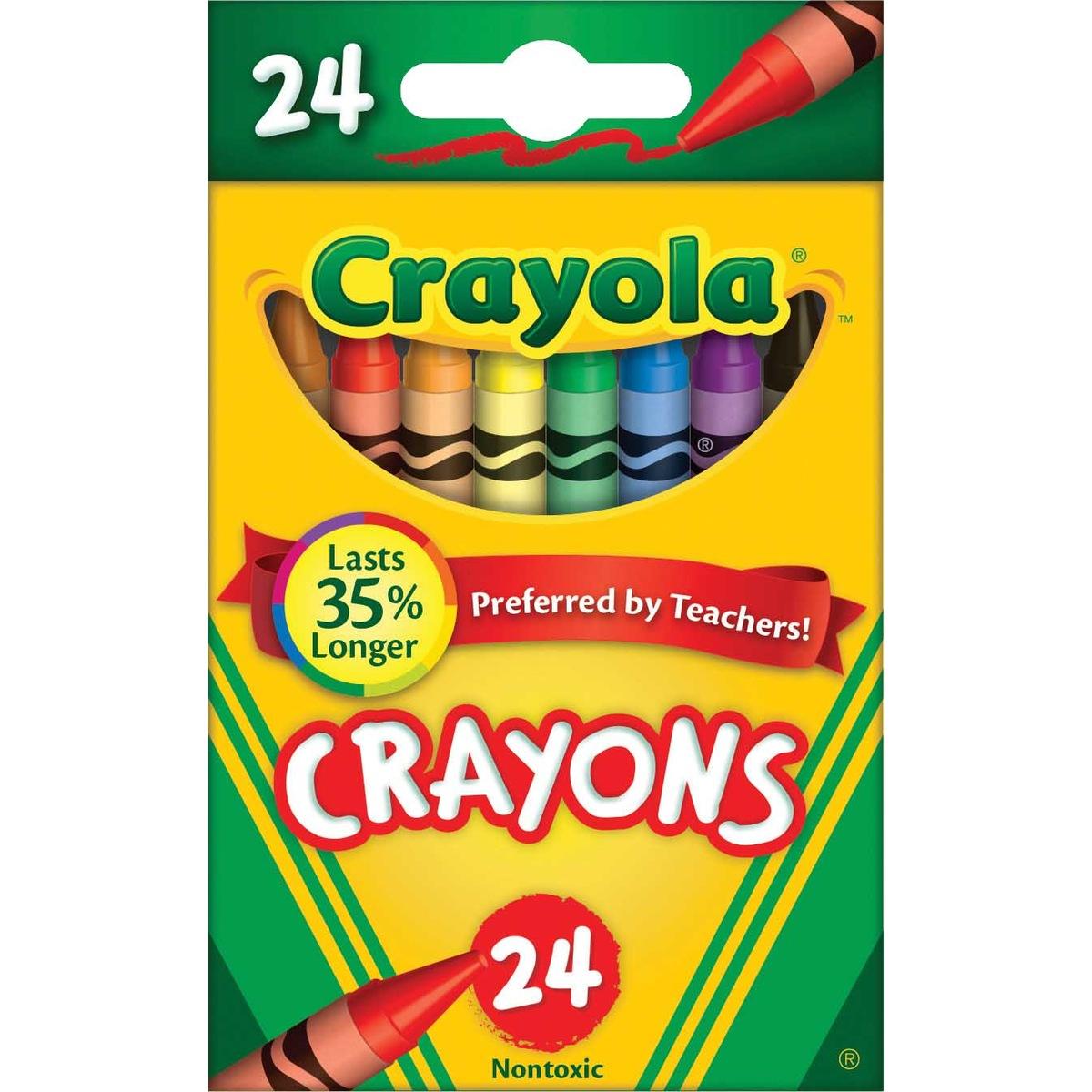 Crayola Crayons Pack Of 24 Kmart