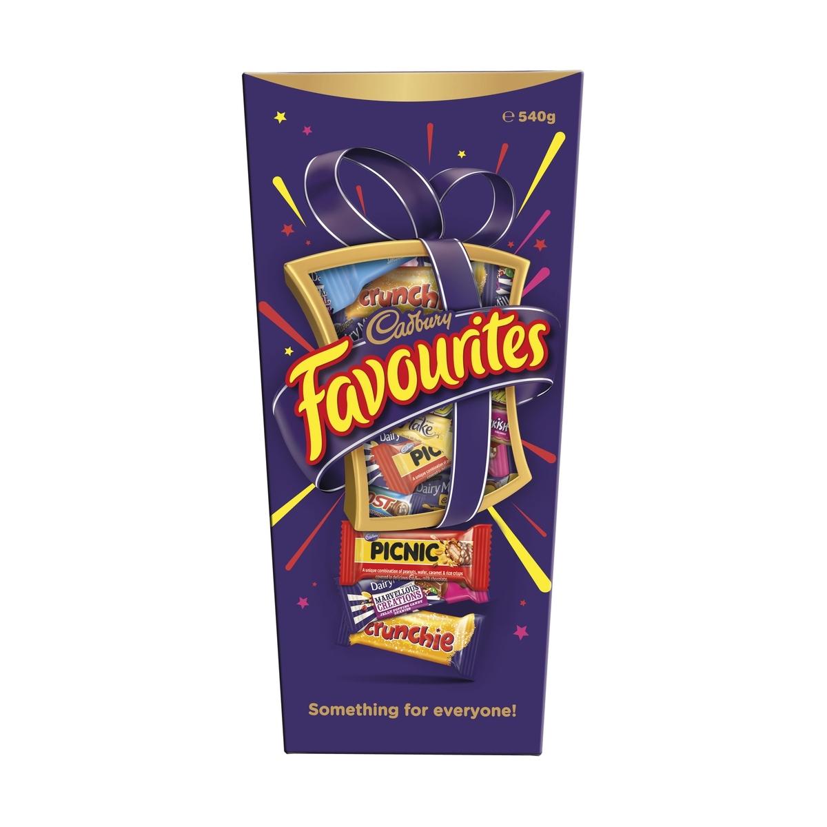 Cadbury Favourites 540g Kmart