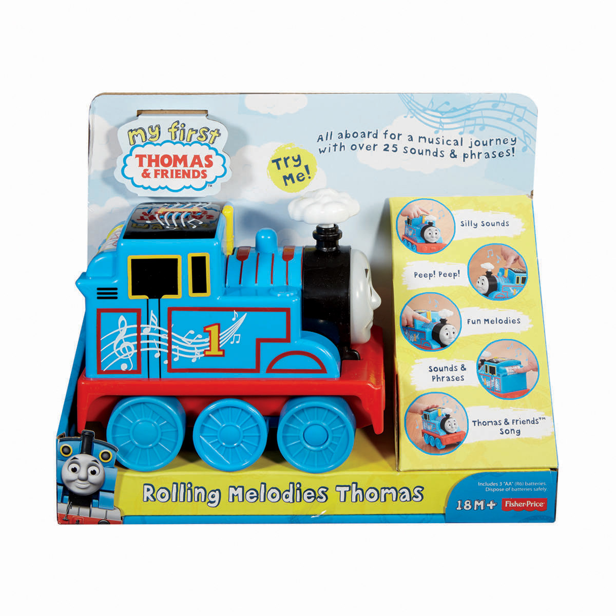 100 fisher price thomas and friends my first thomas for Bathroom noise cancellation