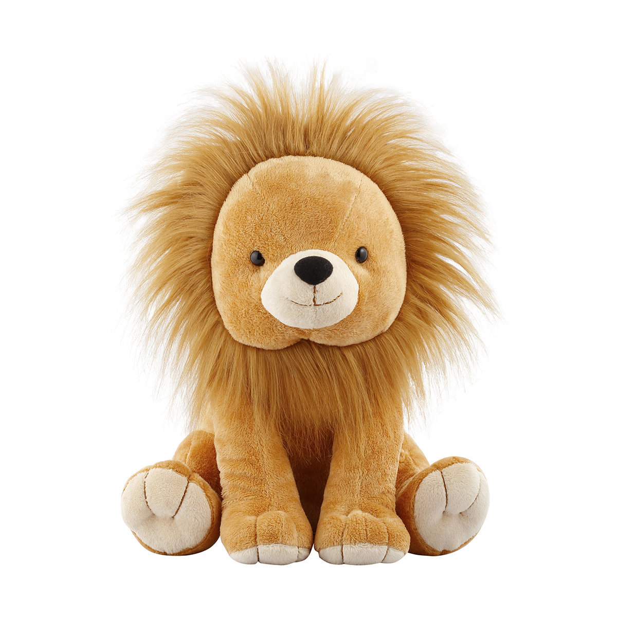 Long Hair Plush Lion Kmart