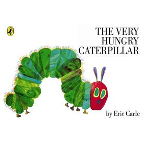 The Very Hungry Caterpillar by Eric Carle - Book