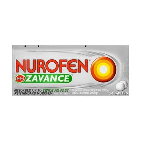 24 Pack Nurofen Zavance Tablets