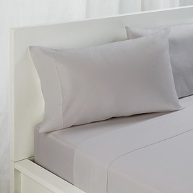 Flat Sheet - King Bed, Grey