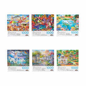 1000-Piece Puzzle - Art Collection