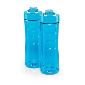 Blue Blender Bottles - 2 Pack