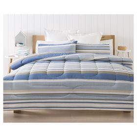 Lonsdale Striped Comforter Set - Double Bed