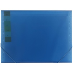13-Pocket Expanding File - Blue