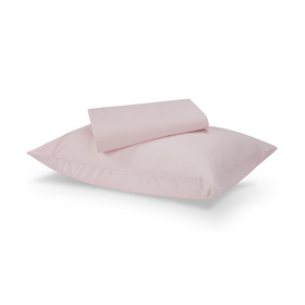 225 Thread Count Sheet Set - Single Bed, Pink
