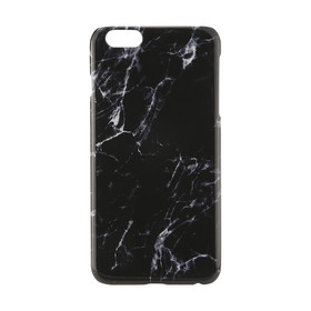 iPhone 6 Plus/6s Plus Marble Case - Black