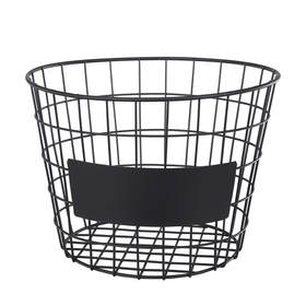 Round Blackboard Basket