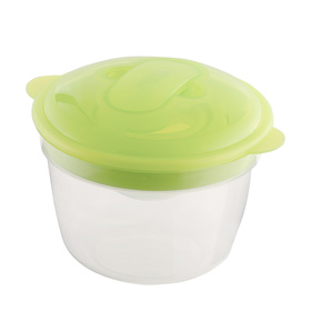 Round Container with Freeze Pack - Green