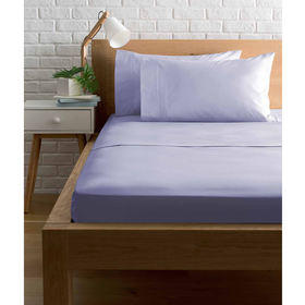 225 Thread Count Sheet Set - Single Bed, Lilac
