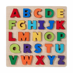 Learn the Alphabet Chunky Wooden Puzzle