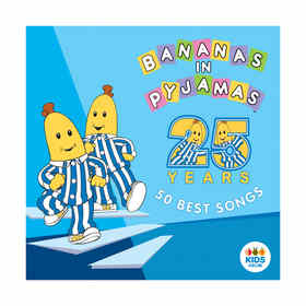 Bananas in Pyjamas: 50 Best Songs - CD