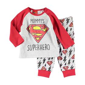 Mummy's Superhero Pyjama Set
