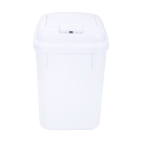 5 Litre Touch Top Bin White