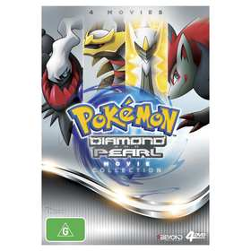 Pokemon Diamond and Pearl - DVD