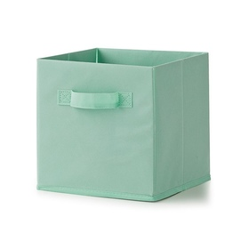 Non-woven Collapsible Storage Cube - Mint, Set of 3