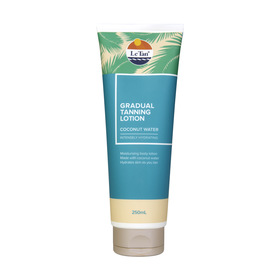 Le Tan 250ml Gradual Tanning Lotion Coconut Water