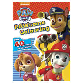 Paw Patrol Pawsome Colouring - Book