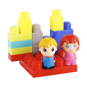 14-Piece Building Blocks Set