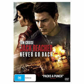 Jack Reacher: Never Go Back - DVD