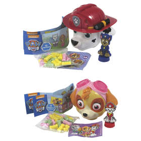 Paw Patrol Candy Head - Assorted