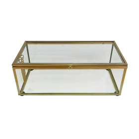Gold Look Jewellery Box
