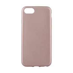 iPhone 6/6s/7/8 Rose Gold Look Silicone Case