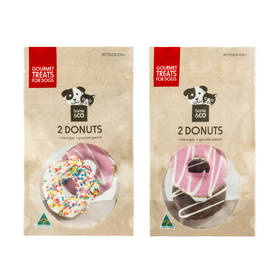 2 Pack Dog Donuts - Assorted