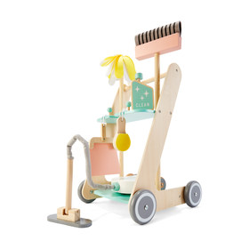 Wooden Cleaning Trolley Playset 143a1f9a25