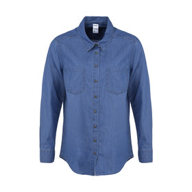 aa2b02eb662 Long Sleeve Chambray Shirt