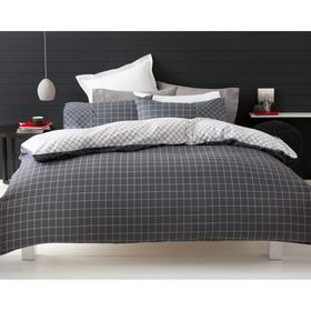 Trent Print Quilt Cover Set - King Bed