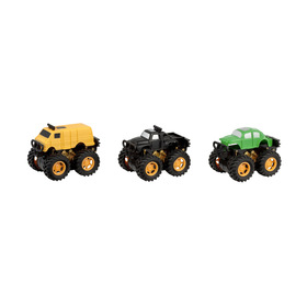 Monster Truck - Set of 3, Assorted