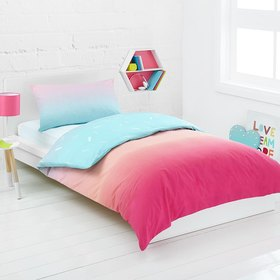 Rainbow Quilt Cover Set - Single Bed