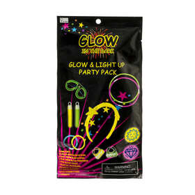 Glow In The Dark Light Up Party Pack