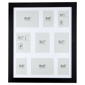 Collage Photo Frame - Black