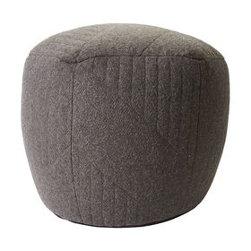 Hex Quilted Ottoman